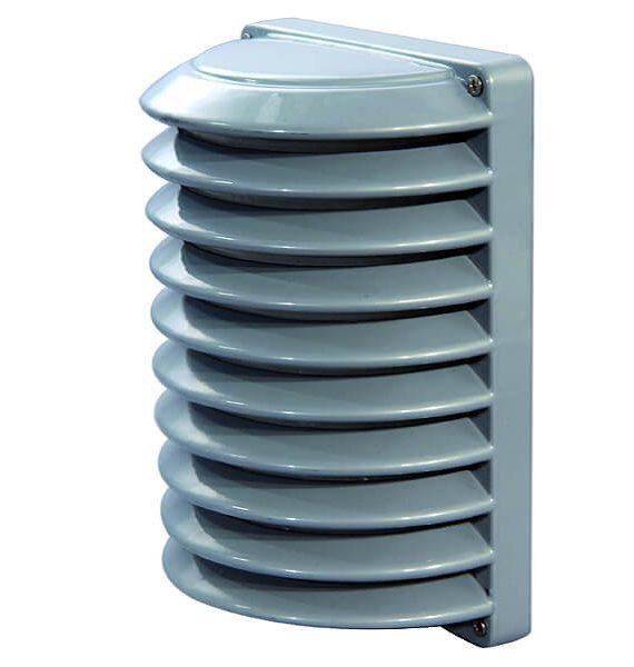 Al lampa Greso 207 siva/IP54/E27/60W Brilum