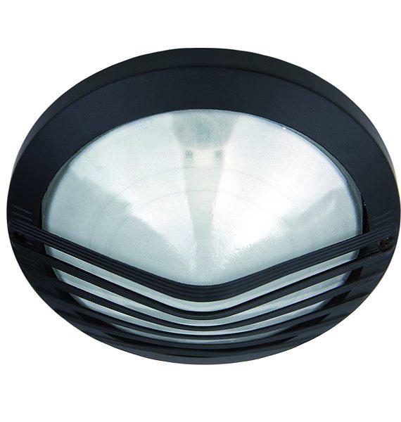 Al lampa Santo 140 crna/IP54/E27/60W Brilum