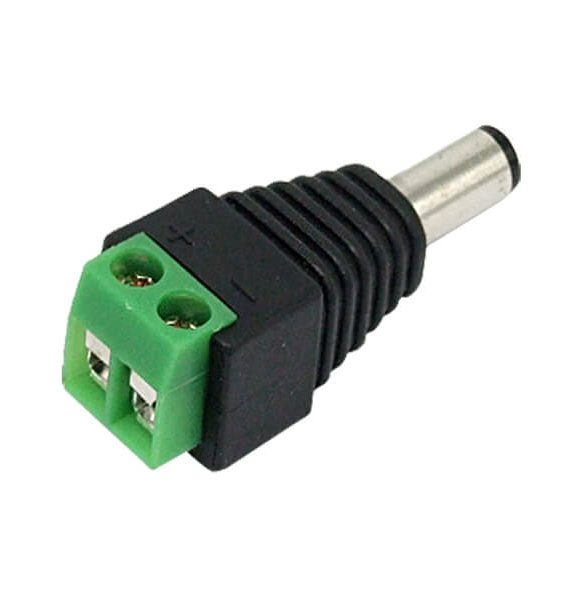 LED DC KONEKTOR 2,1mm/5,5mm muski BRILIGHT