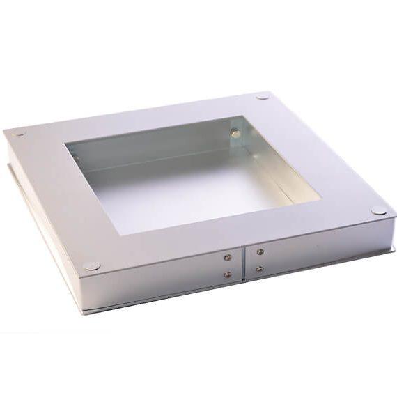 Zidna lampa PIX 100 srebrna