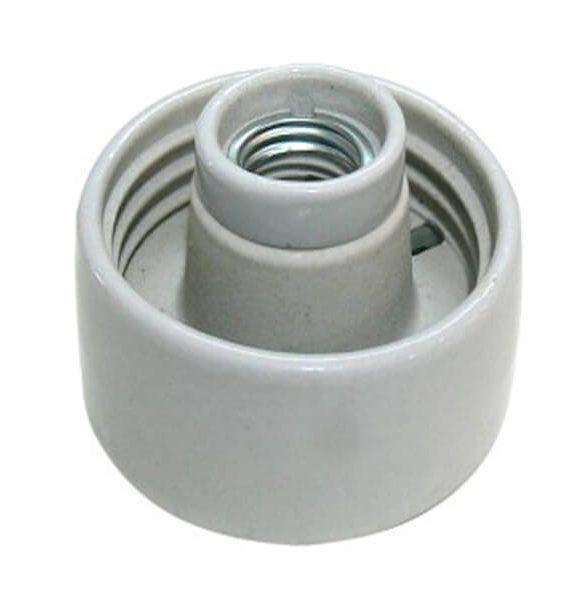 Armatura porcelan ravna E-27 Brilight