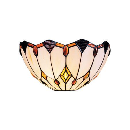 Diana WL - Tiffany zidna lampa E-27 1x40W Brilight