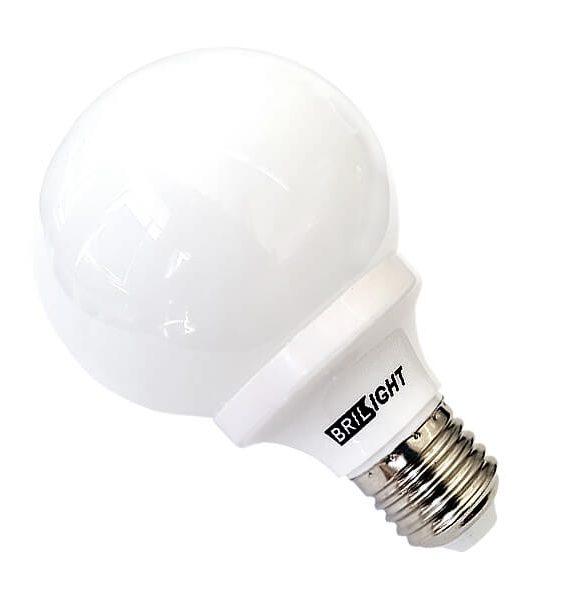 Globe 15W 15G80/4000/E27 CFL Brilight