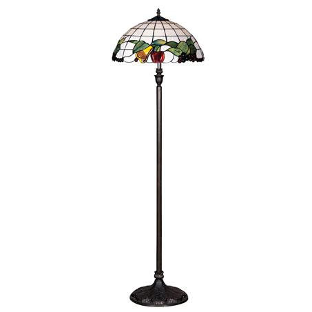 HN3081-FL - TIFFANY PODNA LAMPA E-27 2x60W BRILIGHT