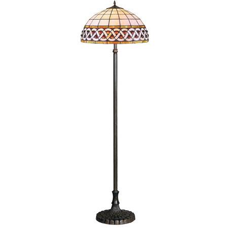 HN9037-FL Tiffany podna lampa E-27 2x60W Brilight