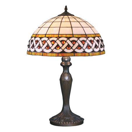HN9037-TB - Tiffany stona lampa E-27 1x60W Brilight