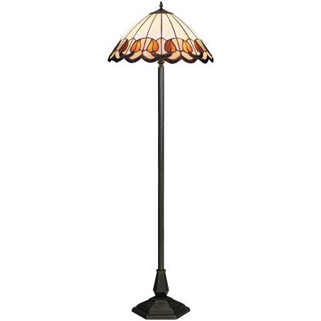 HN9038-FL Tiffany podna lampa E-27 2x60W Brilight