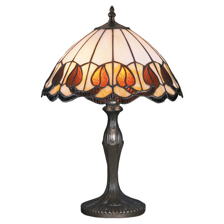 HN9038-TB - Tiffany stona lampa E-27 1x60W Brilight