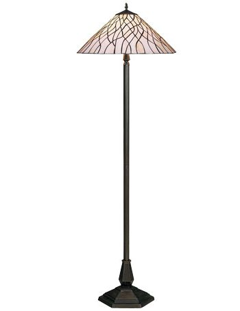 HN9039-FL Tiffany podna lampa E-27 2x60W Brilight
