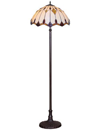 HN9040-FL Tiffany podna lampa E-27 2x60W Brilight