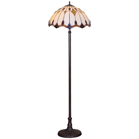 HN9040-FL Tiffany podna lampa E-27 2x60W Brilight