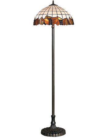 HN9041-FL Tiffany podna lampa E-27 2x60W Brilight