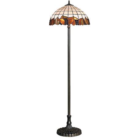 HN9041-FL Tiffany podna lampa E-27 2x60W Brilight