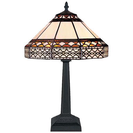 HN9042-TB - Tiffany stona lampa E-27 1x60W Brilight