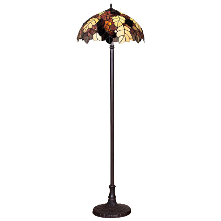 HN9043-FL Tiffany podna lampa E-27 2x60W Brilight