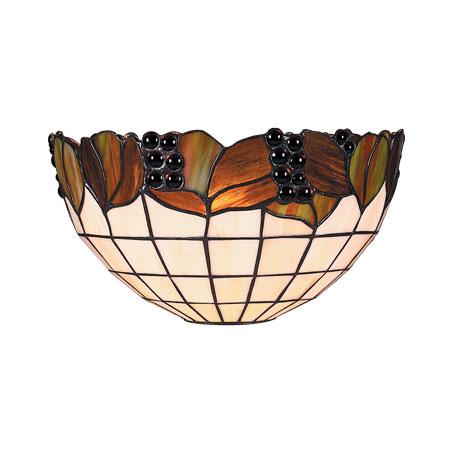 Julia WL - Tiffany zidna lampa E-27 1x40W Brilight