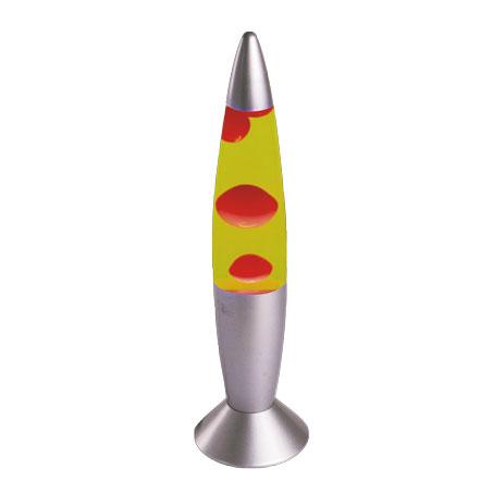 Lava lampa crveno-žuta Brilight