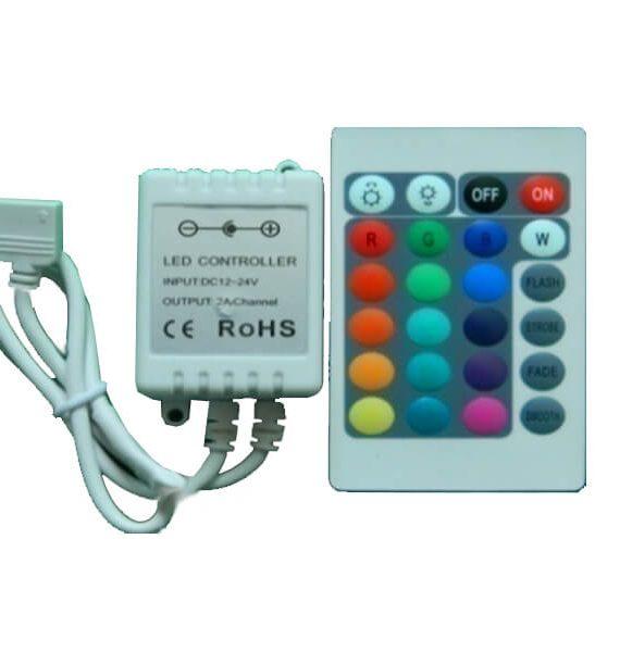 Led kontroler RGB IR 03 3*2A/72W/12V sa daljinskim Brilight