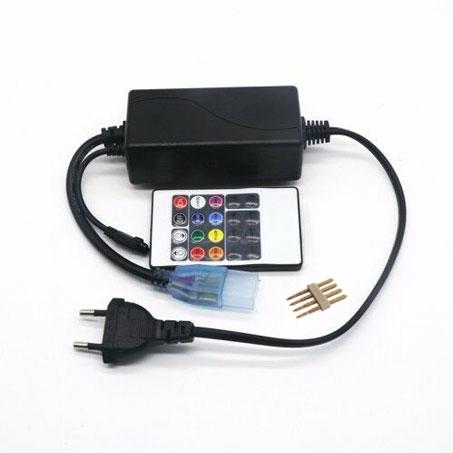 LED KONTROLER RGB RF 7 220V SA DALJINSKIM BRILIGHT