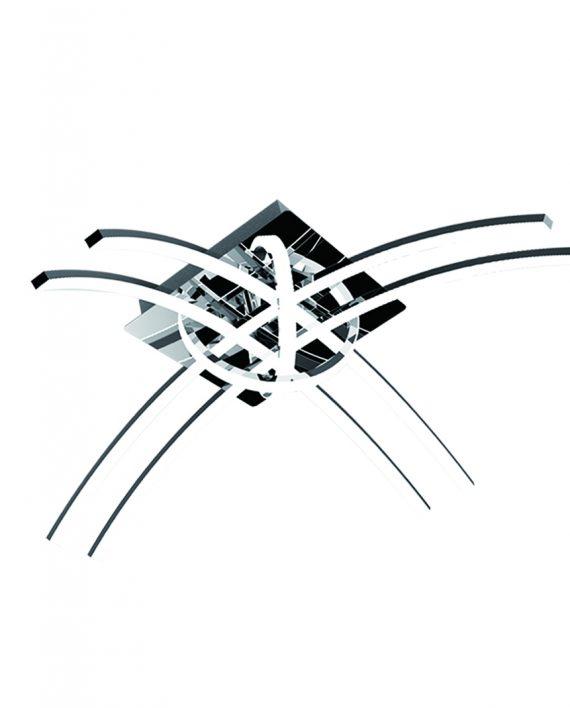 LED plafonska svetiljka Ikarus 40W 4000K Brilight