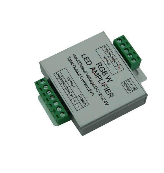 Led pojacivac RGBW AMF-L-4 12V 4X6A/288W Brilight