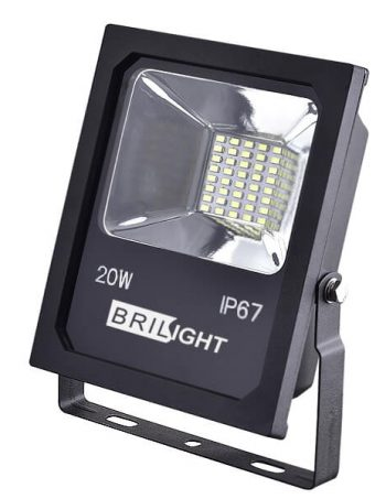 Led reflektor 20W SMD5730 1700LUM IP67 Brilight