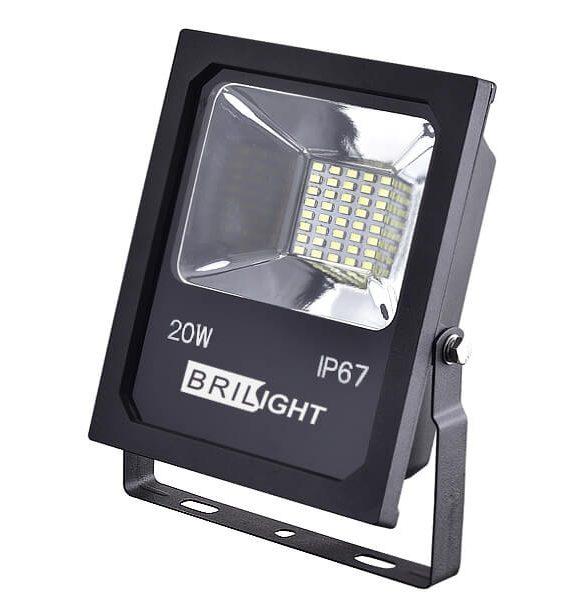 Led reflektor 20W SMD5730 1700LUM IP67 Brilight