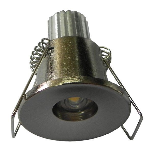 LED ROZETNA ZVEZDANO NEBO M-30 1PC/1W/WH SATEN NIKL BRILIGHT