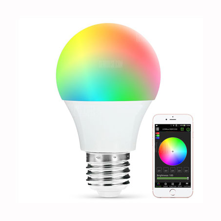 LED SIJALICA A60 BLUETOOTH 5W/E27/RGBW/120°/350Lm