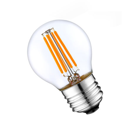 LED SIJALICA G45 FILAMENT 4W/E27/2700K/470Lm WELLMAX