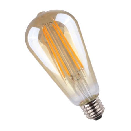 LED SIJALICA ST64 FILAMENT 7W/E27/2700K/650Lm WELLMAX
