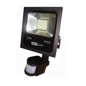 Led smd reflektor 20W/S senzor 1700LM/6500K IP65 Brilight