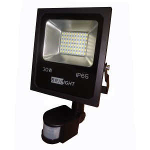 Led smd reflektor 30W/S senzor 2500LM/6500K IP65 Brilight