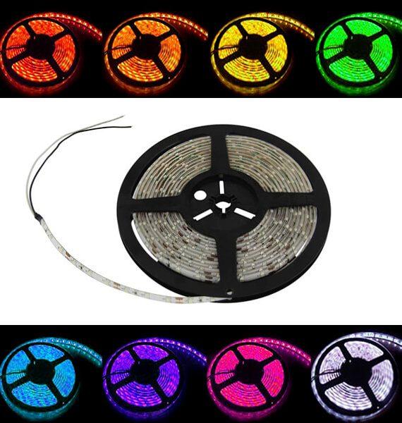 LED TRAKA 5050-96-RGBW IP20 16W/12V 5000X10X2,2mm BRILIGHT
