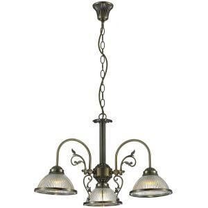 Luster DL-871-3 FI600XH420 3l 3XE-27 bronza Brilight
