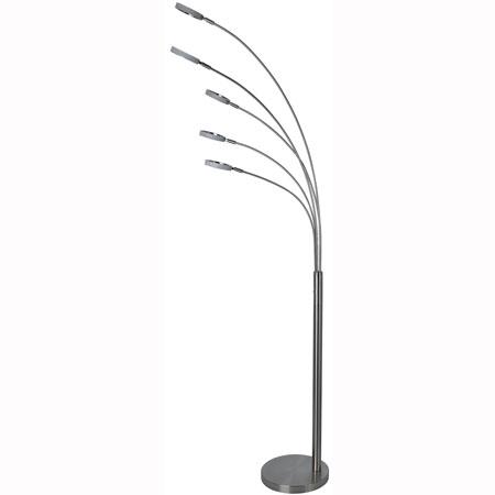 Podna lampa FL-050002 LED 5x5W 3000K saten-nikl Brilight