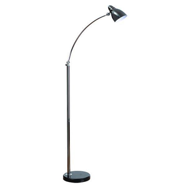 Podna lampa HN 3029 ML-1 crna-hrom Brilight