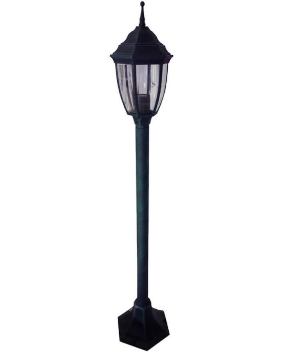 Svetiljka stubna BL-400S1 crno-zelena Brilight