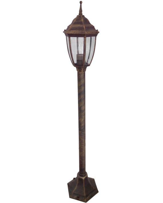 Svetiljka stubna BL-400S1 staro-zlato Brilight